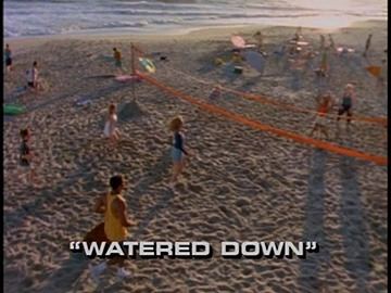 "Title Card for ""Watered Down""."