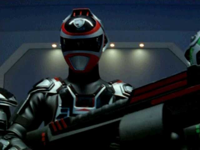 A-Squad Red Ranger