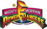 Mighty Morphin Power Rangers toy line logo.