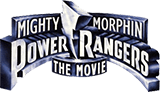 Mighty Morphin Power Rangers: The Movie logo.