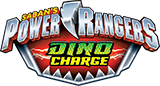Power Rangers Dino Charge toy line logo.