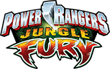 Power Rangers Jungle Fury toy line logo.