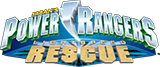 Power Rangers Lightpseed Rescue logo.