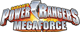 Power Rangers Megaforce logo.