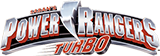 Power Rangers Turbo logo.