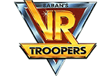 VR Troopers toy line logo.