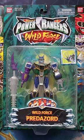 Power rangers wild force toy guide grnrngr 10173 wild force predazord thecheapjerseys Image collections