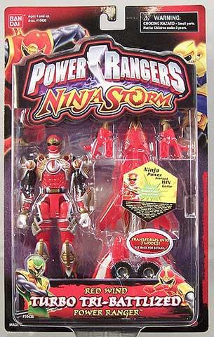 Power Rangers Ninja Storm Toy Guide - GrnRngr com