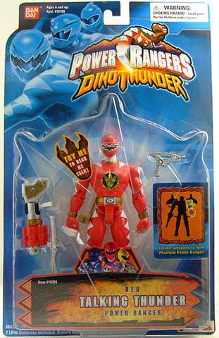 Power Rangers Dino Thunder Toy Guide - GrnRngr com