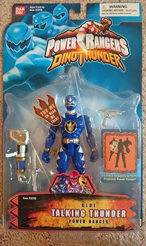 Power Rangers Dino Thunder Triassic Megazord