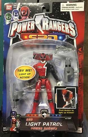 POWER RANGERS SPD SWAT Megazord armi istruzioni molto raro giocattolo