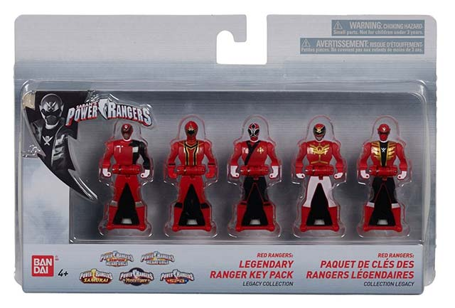 POWER RANGERS LEGACY COLLECTION FIGURE PACK MYSTIC FORCE RED RANGER SPELLBINDER