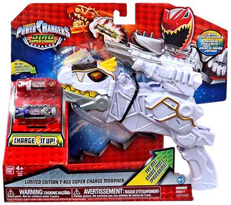 Power Rangers  Dino Supercharge Deluxe Plesio Charge Megazord  43095   Assorted