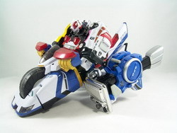 Riding Dekaranger Robo